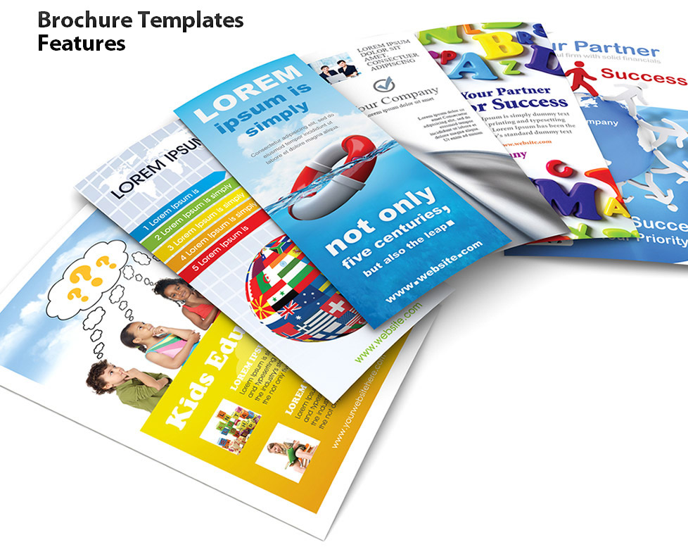 Brochure Templates Features